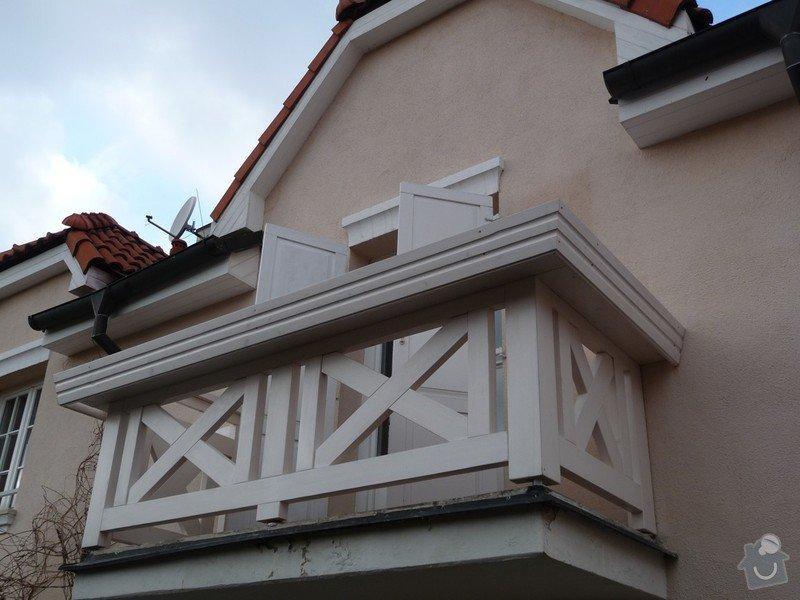 Rekonstrukce balkónu - výroba nového zábradlí: P1050916