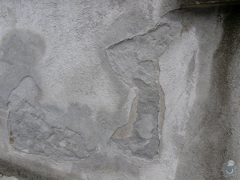Oprava vnější betonové zdi a schodů: P8141594