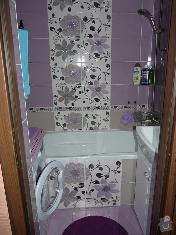 Rekonstrukce koupelny, WC: P1050496