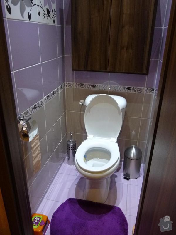 Rekonstrukce koupelny, WC: P1050501