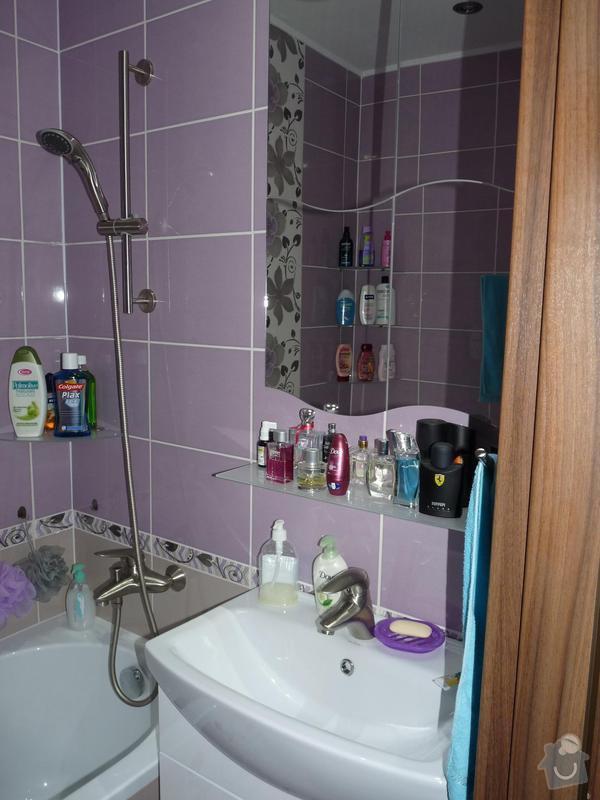 Rekonstrukce koupelny, WC: P1050497