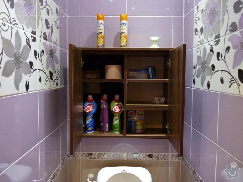 Rekonstrukce koupelny, WC: P1050503