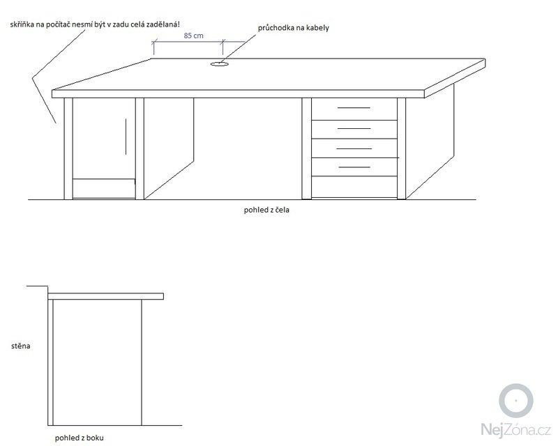 Výroba psacího stolu: Psaci_stul