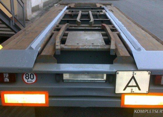 Opravy kontejnerů a vozidel
