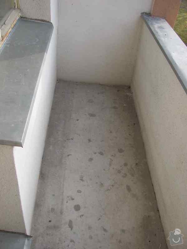 Dlažba lodžie panel. domu, 3 m2: LodzieDlazba