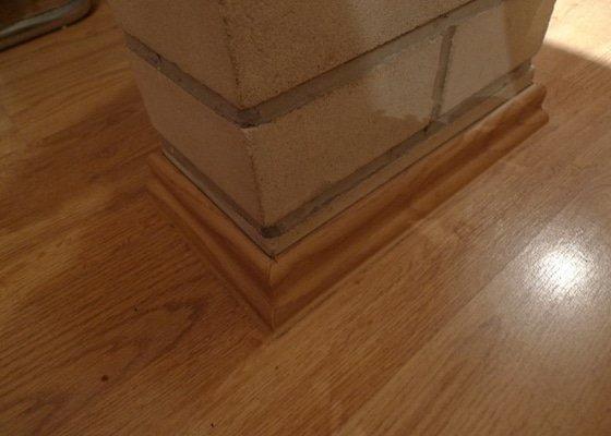 Výměna podlahových lišt / 45m