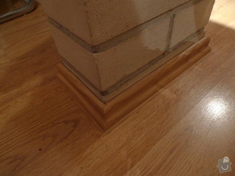 Výměna podlahových lišt / 45m: P1000679