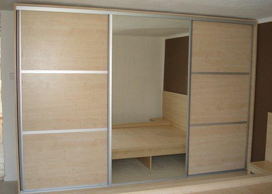 Výroba kuchyně na míru,ložnice-výroba skříní a postelí na míru