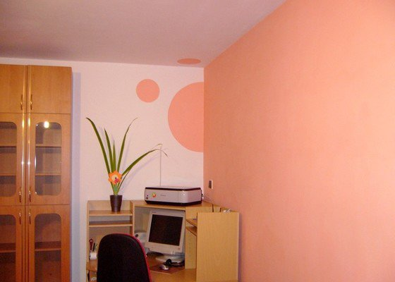 Malířské práce v interiéru