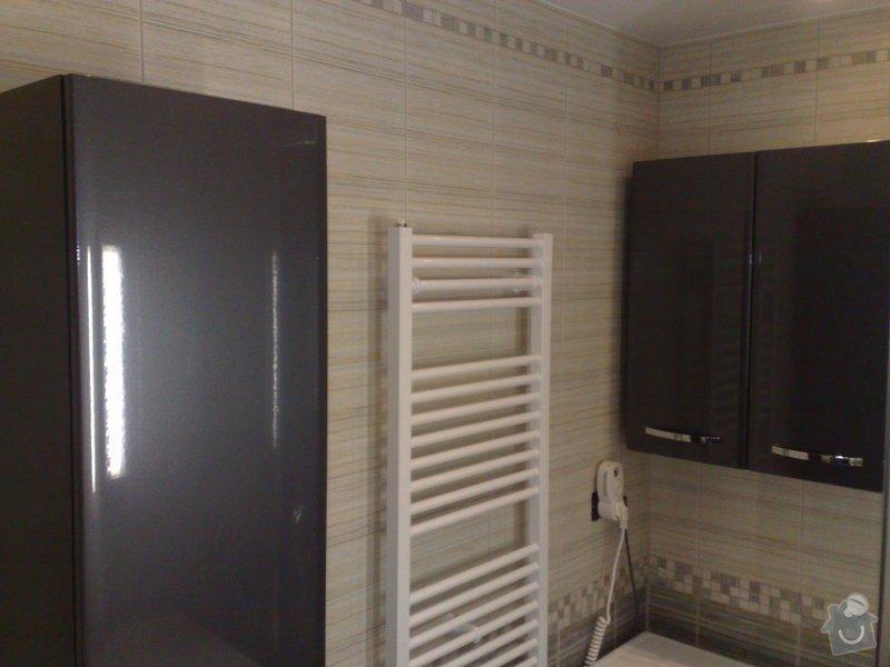 Rekonstrukce koupelny,WC: 01092009474