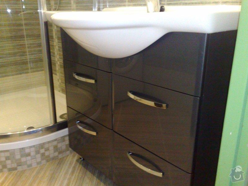 Rekonstrukce koupelny,WC: 01092009473