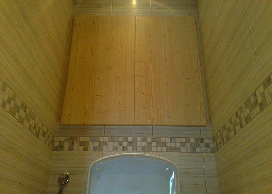 Rekonstrukce koupelny,WC