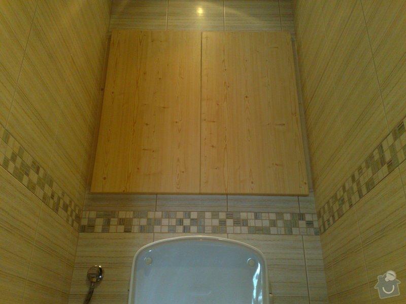 Rekonstrukce koupelny,WC: 31082009469