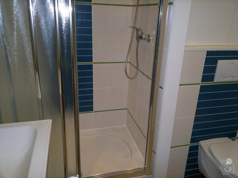 Rekonstrukce koupelny, WC: 23052011330