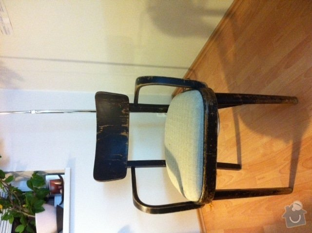 Oprava 2 starších židlí: zidle_1