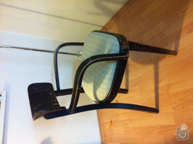 Oprava 2 starších židlí: zidle2