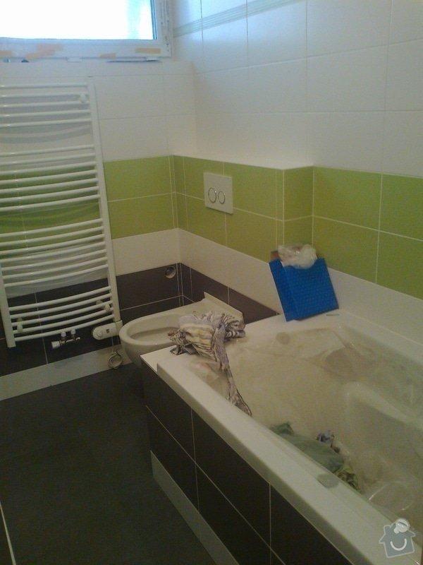 Betonování garáže, velkoformátová dlažba, obklad koupelny: Fotografie0067
