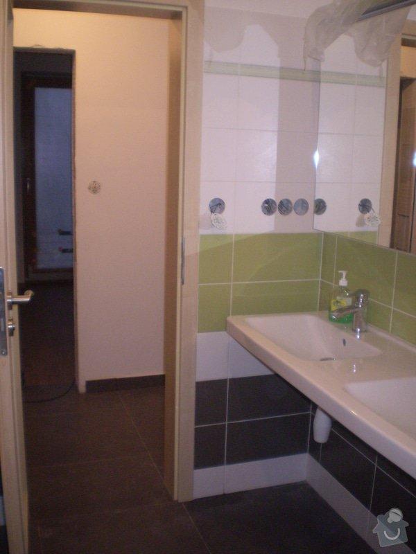 Betonování garáže, velkoformátová dlažba, obklad koupelny: P4070150