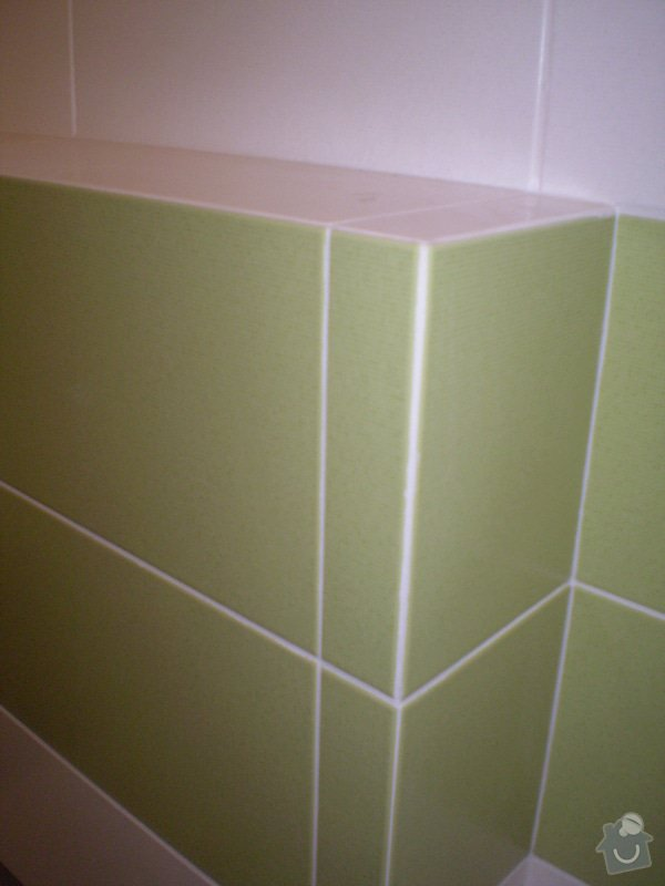 Betonování garáže, velkoformátová dlažba, obklad koupelny: P4070153