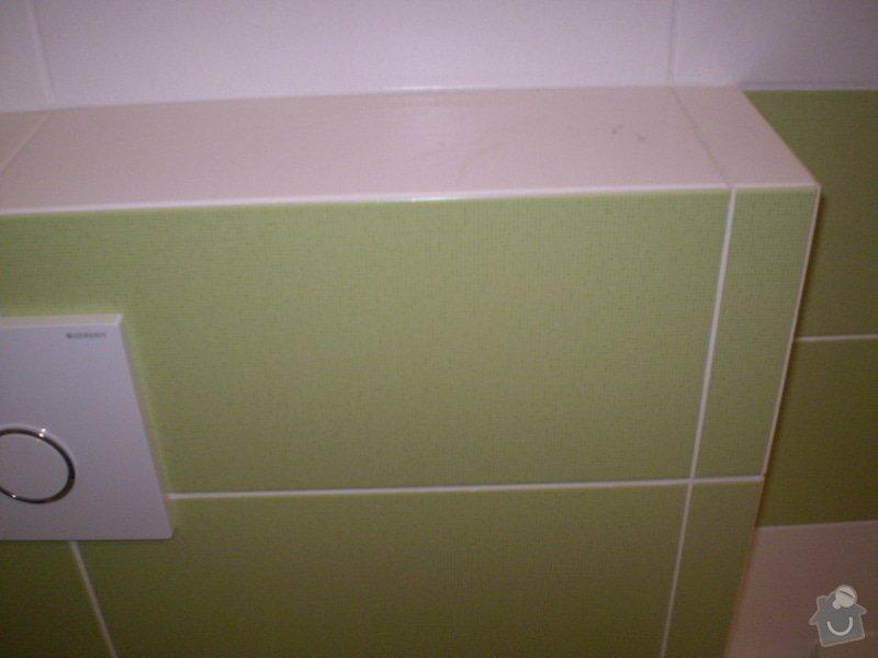Betonování garáže, velkoformátová dlažba, obklad koupelny: P4070154