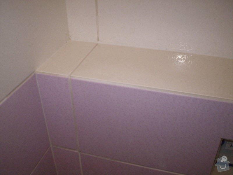 Betonování garáže, velkoformátová dlažba, obklad koupelny: P4070169