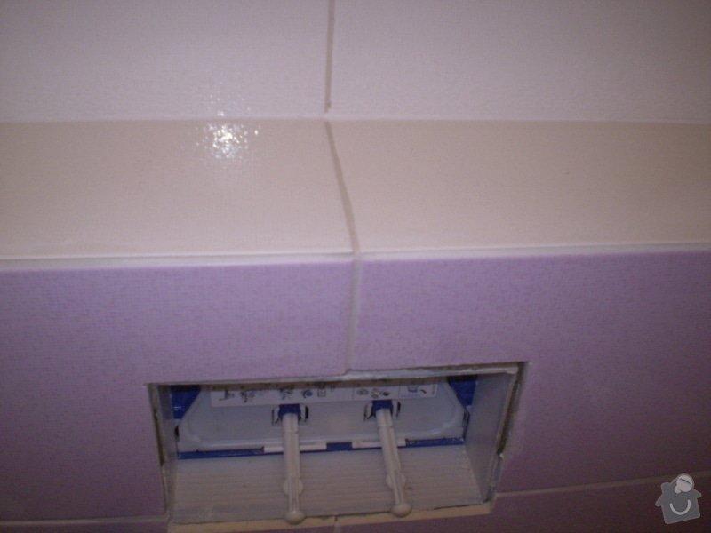 Betonování garáže, velkoformátová dlažba, obklad koupelny: P4070170