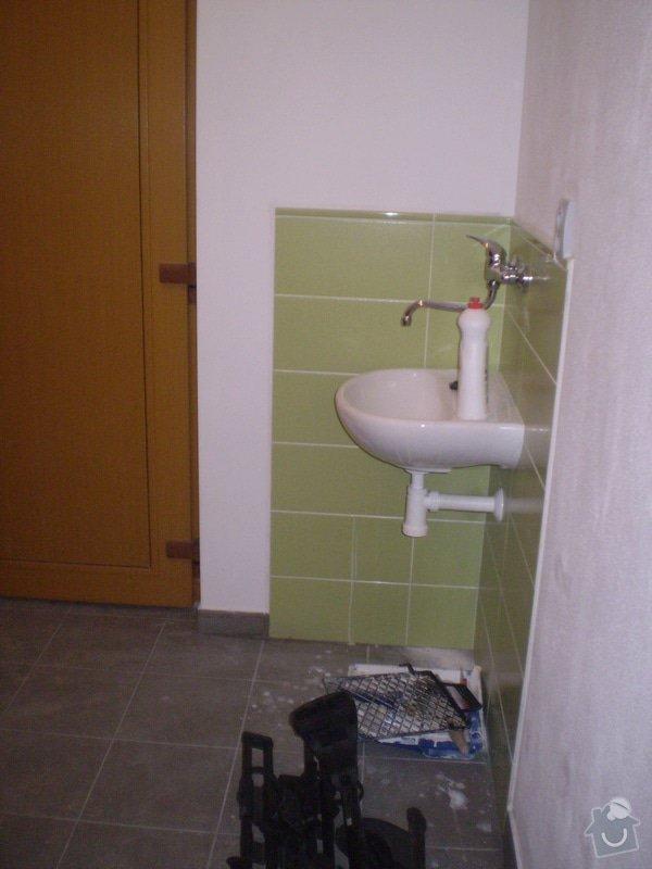 Betonování garáže, velkoformátová dlažba, obklad koupelny: P4070177