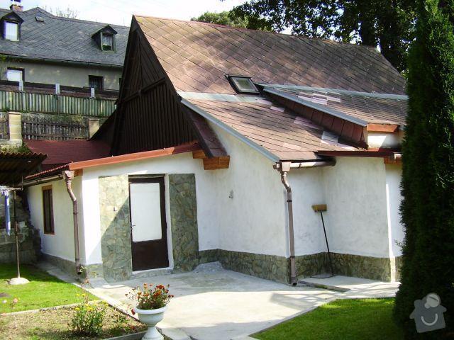 Kompletní rekonstrukce rodinného domku : 1