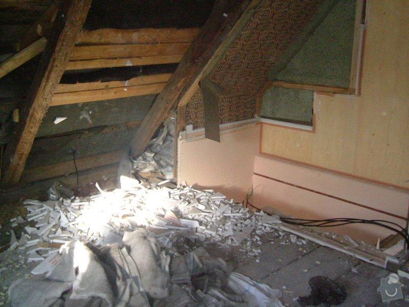 Kompletní rekonstrukce rodinného domku : 2