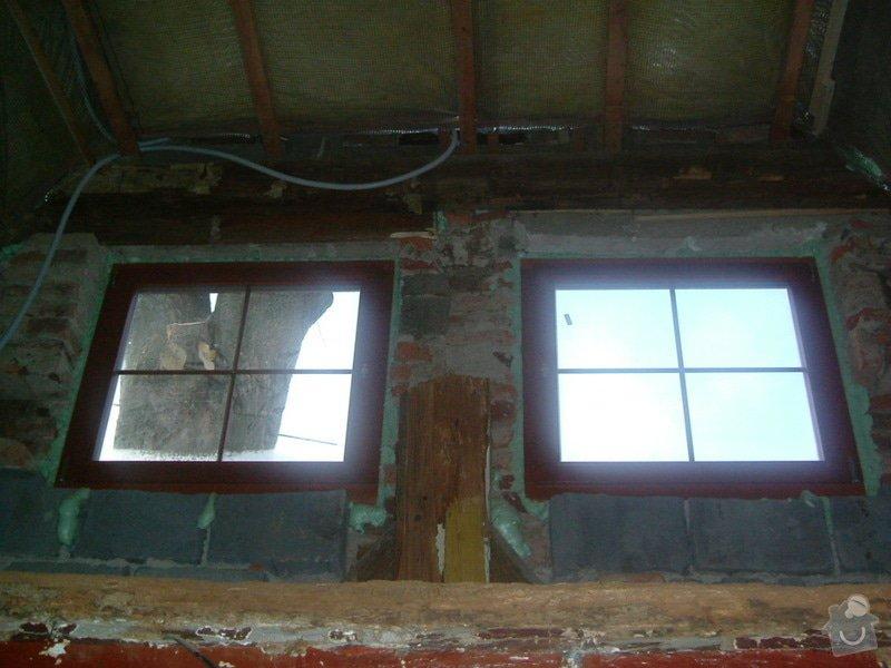 Kompletní rekonstrukce rodinného domku : 7