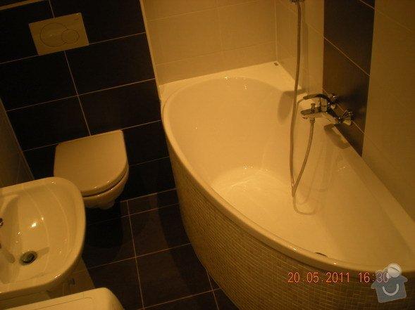 Kompletní rekonstrukce koupelny a kuchyně: 140-05