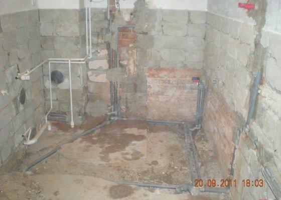 Kompletní rekonstrukce koupelny v rodinném domku