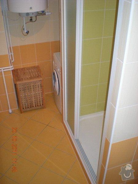 Kompletní rekonstrukce koupelny v rodinném domku: 143-06