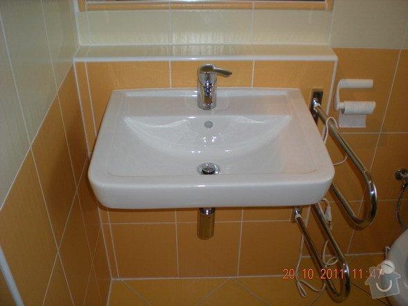 Kompletní rekonstrukce koupelny v rodinném domku: 143-07