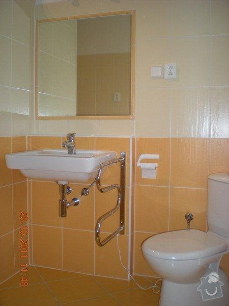 Kompletní rekonstrukce koupelny v rodinném domku: 143-08