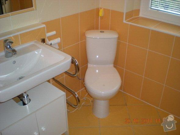 Kompletní rekonstrukce koupelny v rodinném domku: 143-12