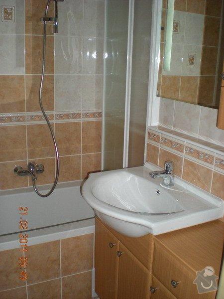 Kompletní rekonstrukce koupelny: 138-01-LBC-Na_Zizkove