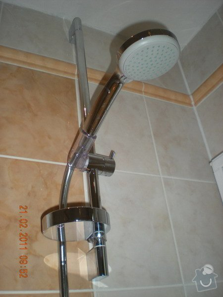 Kompletní rekonstrukce koupelny: 138-05