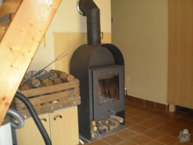 Kominíka - vyčištění komínu: P9130281