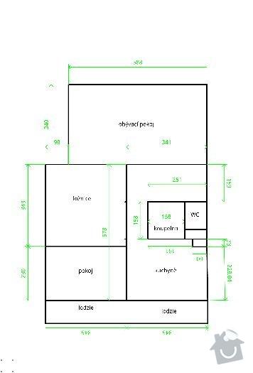 Rekonstrukce panelového bytu 3+1: 1329229920884