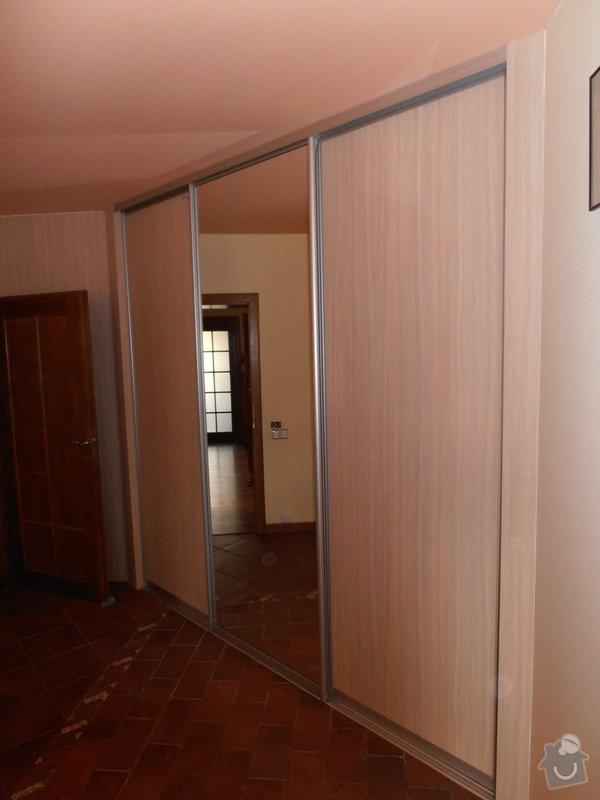 Výroba a montáž vestavěné skříně: P3090108
