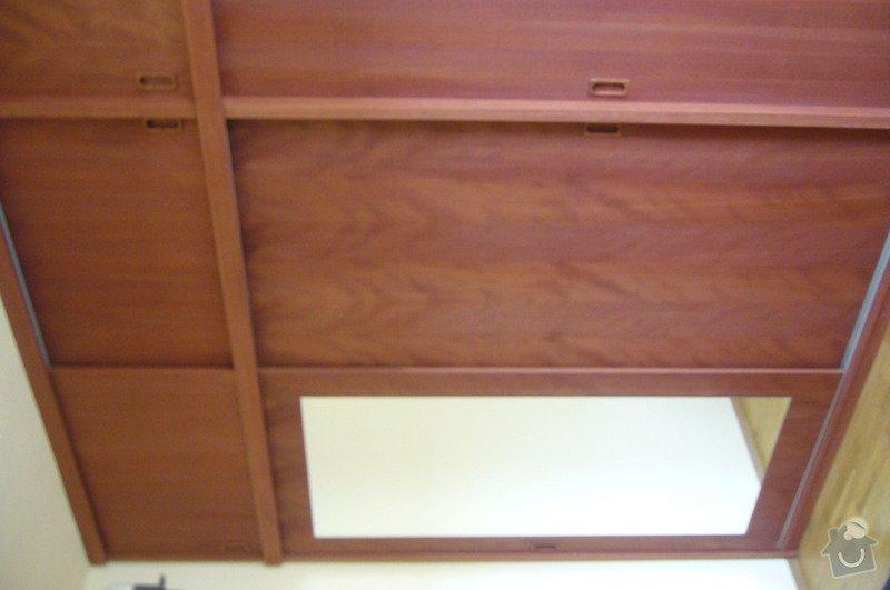 Výroba postele a vestavěné skříně z masivu: P1020275