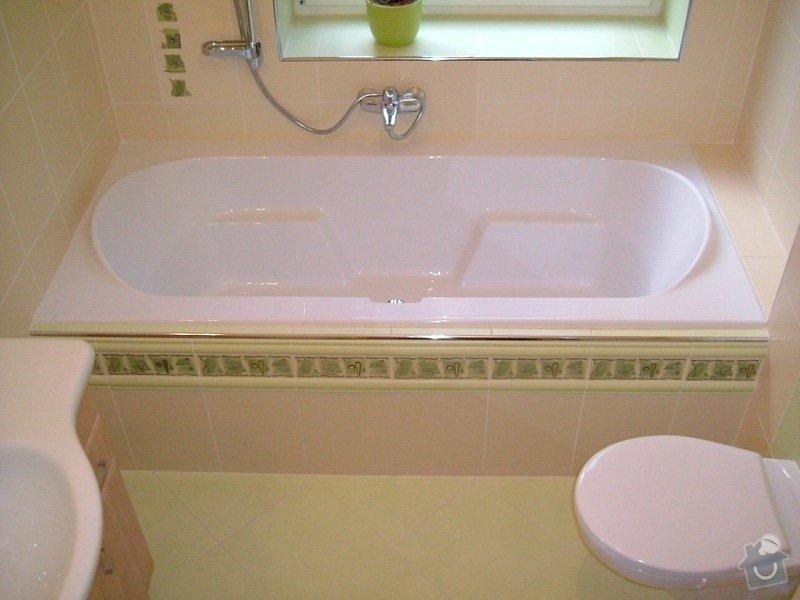 Rekonstrukce koupelny ve starší zástavbě: 56-02