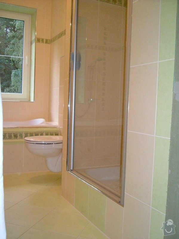 Rekonstrukce koupelny ve starší zástavbě: 56-04