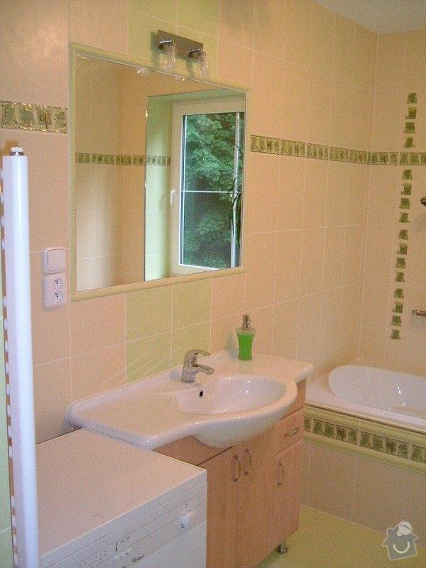 Rekonstrukce koupelny ve starší zástavbě: 56-11