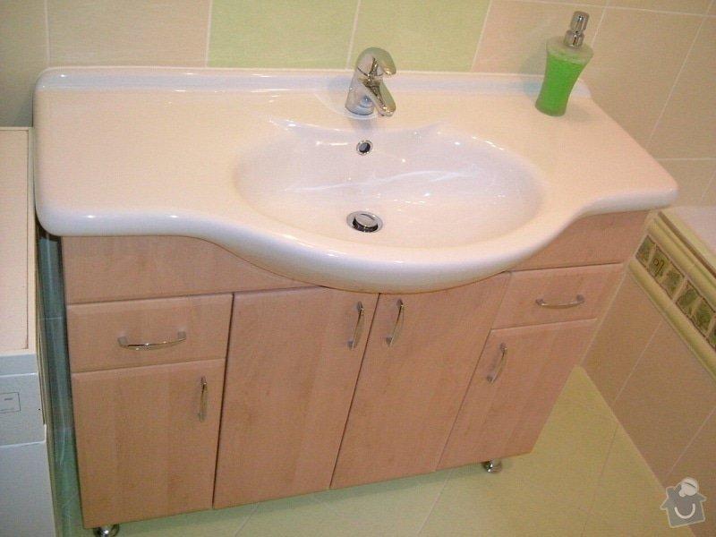 Rekonstrukce koupelny ve starší zástavbě: 56-12