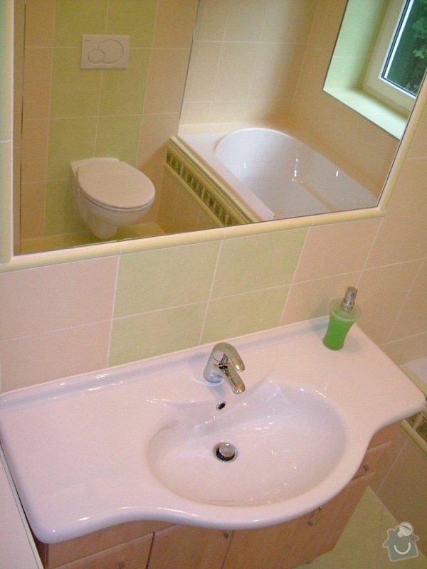 Rekonstrukce koupelny ve starší zástavbě: 56-13