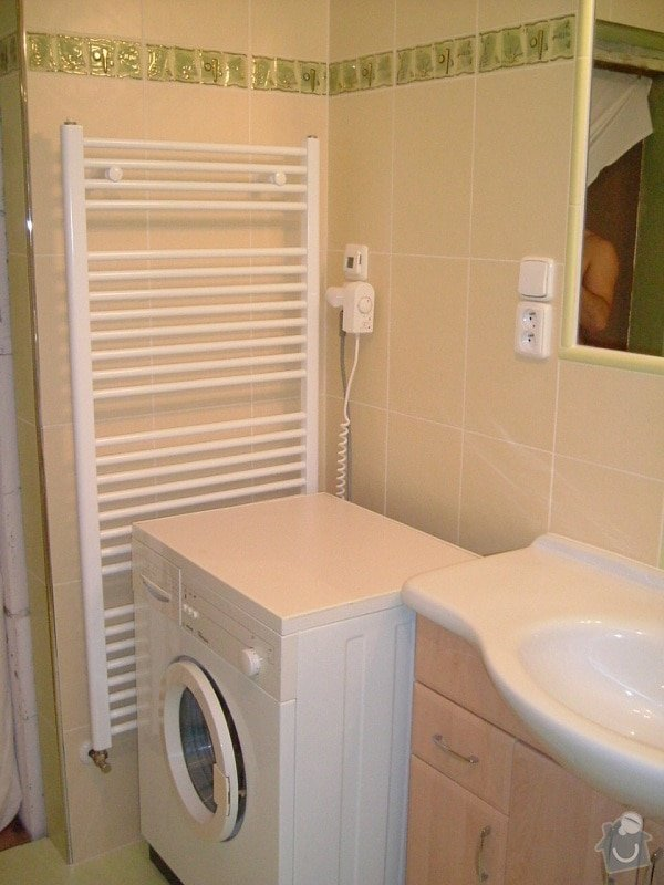 Rekonstrukce koupelny ve starší zástavbě: 56-15