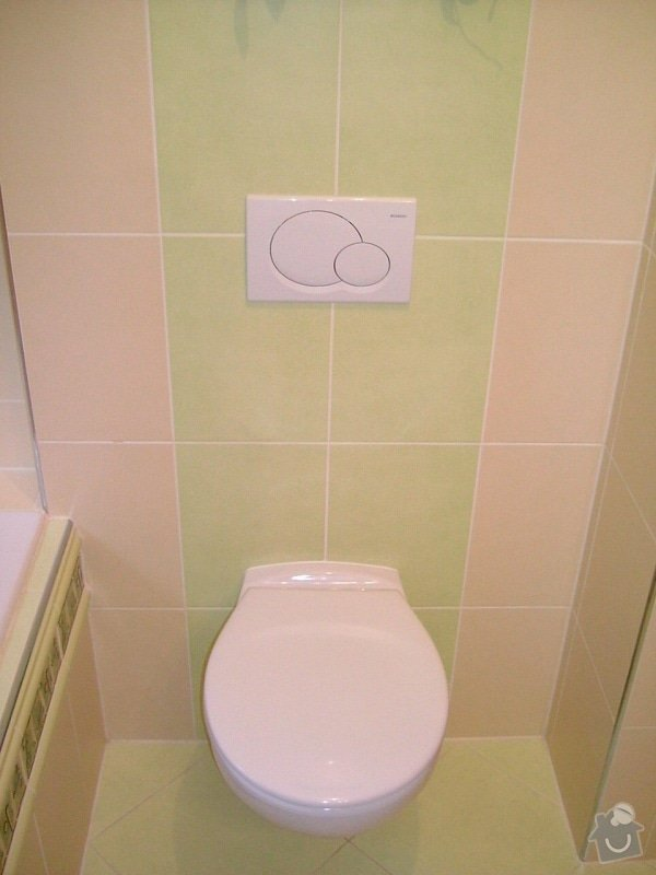 Rekonstrukce koupelny ve starší zástavbě: 56-17