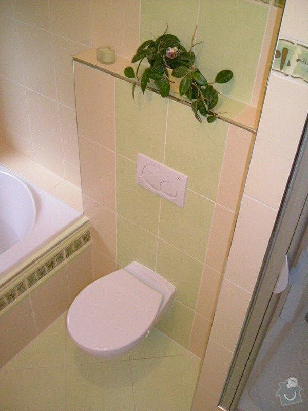 Rekonstrukce koupelny ve starší zástavbě: 56-18